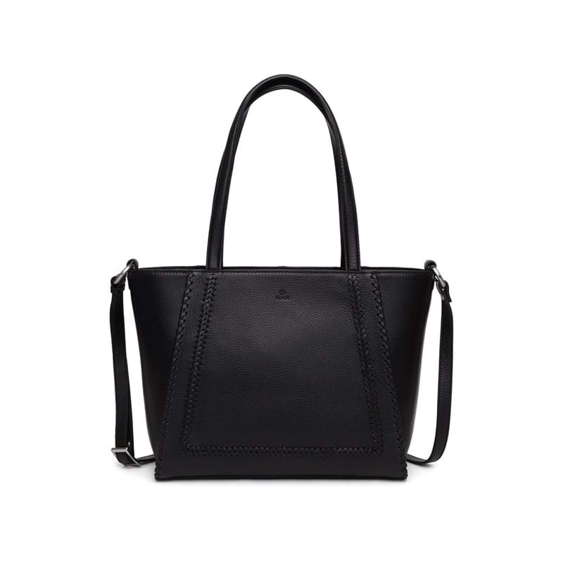 Adax Handbag Ova Cormorano Sort 1