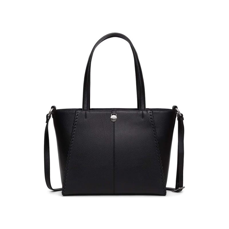Adax Handbag Ova Cormorano Sort 2