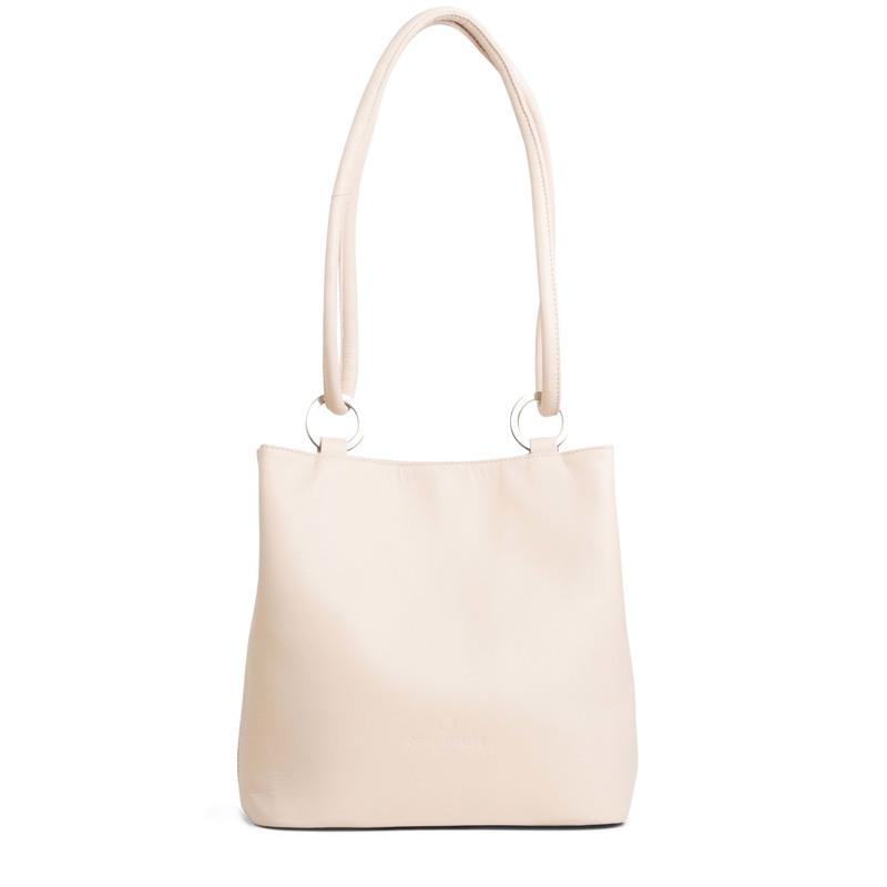 Taske Bucket Bag M Beige 1