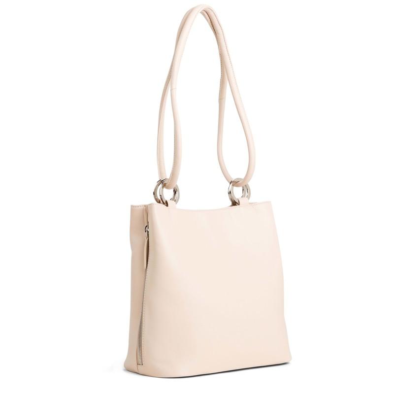 Taske Bucket Bag M Beige 2