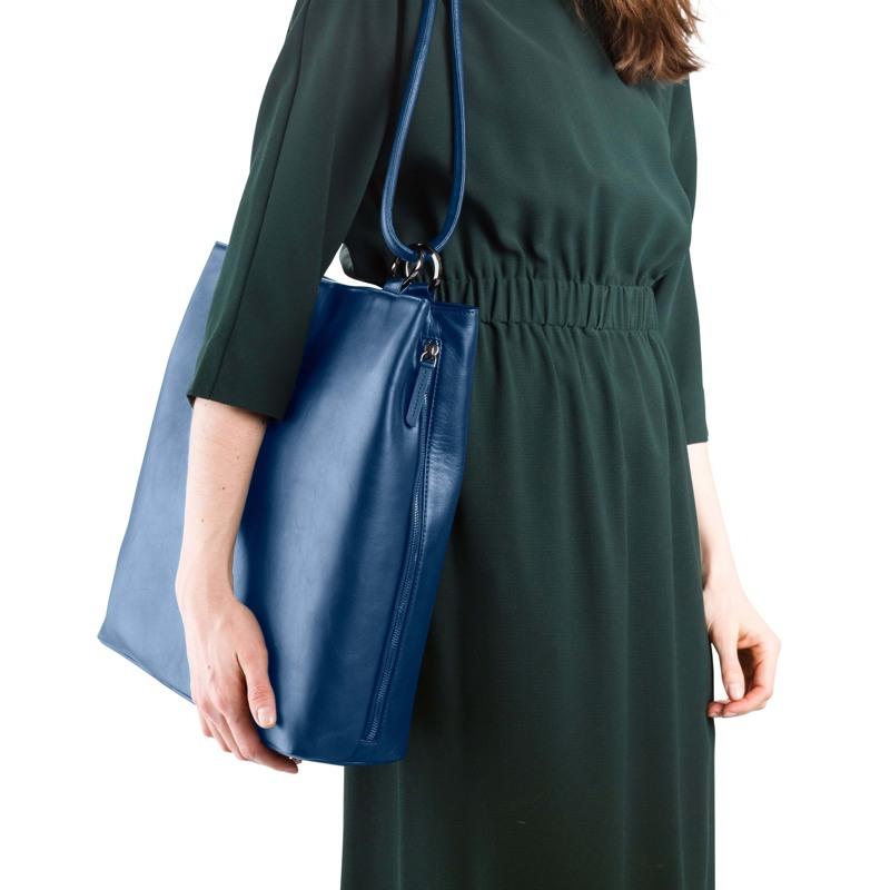 Taske Bucket Bag L Blå 4