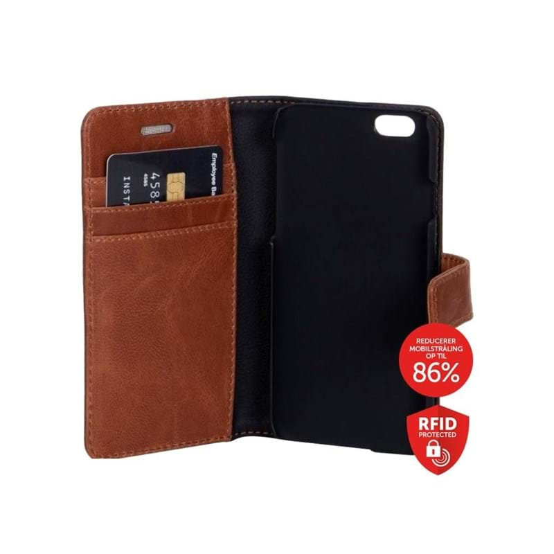 Iphone Flip-side iPhone 6,7,8 Brun/Sort 2
