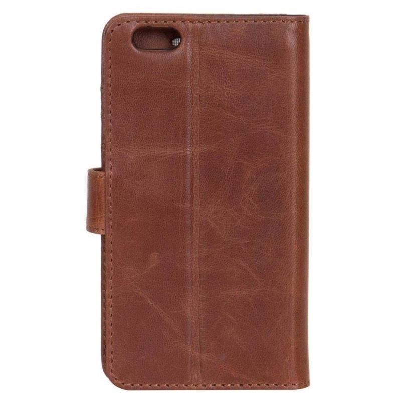 Iphone Flip-side iPhone 6,7,8 Brun/Sort 5