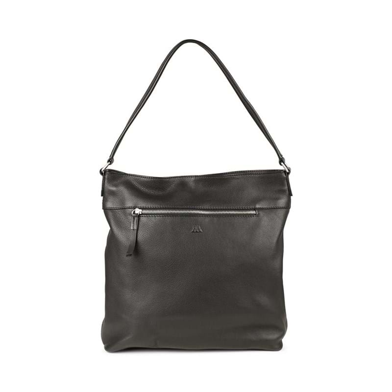 Markberg Shopper Irmelin, Suede Sort 4