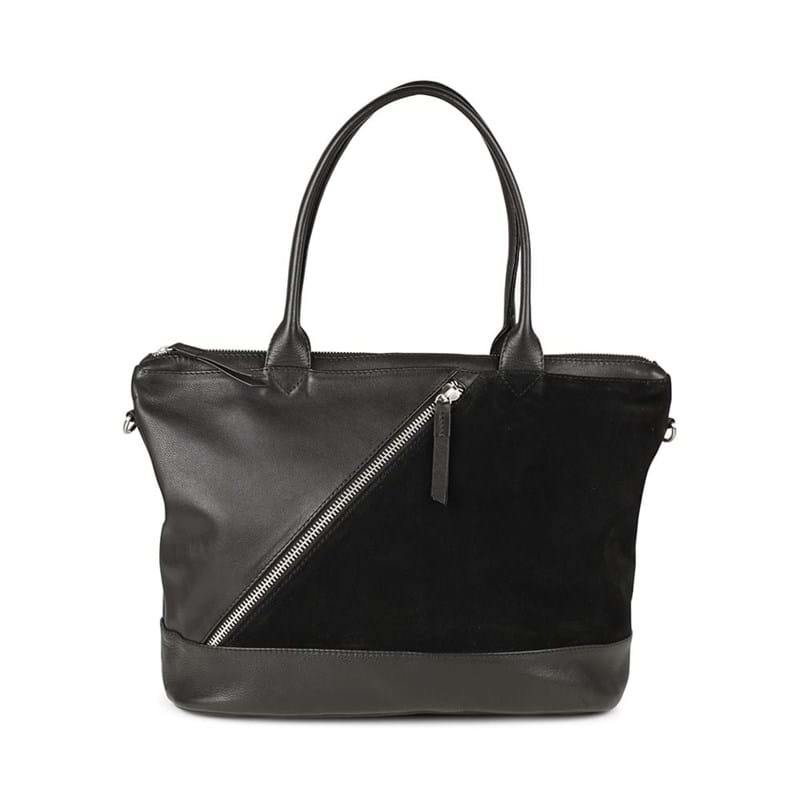 Markberg Shopper Zola, Suede Sort 1