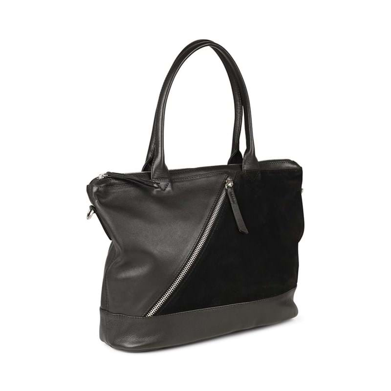 Markberg Shopper Zola, Suede Sort 2