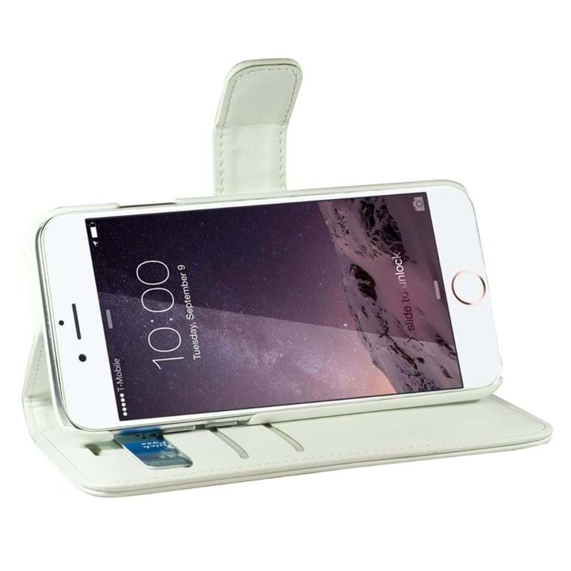 Mobilcover Fashion iPhone 6/6s Hvid 4