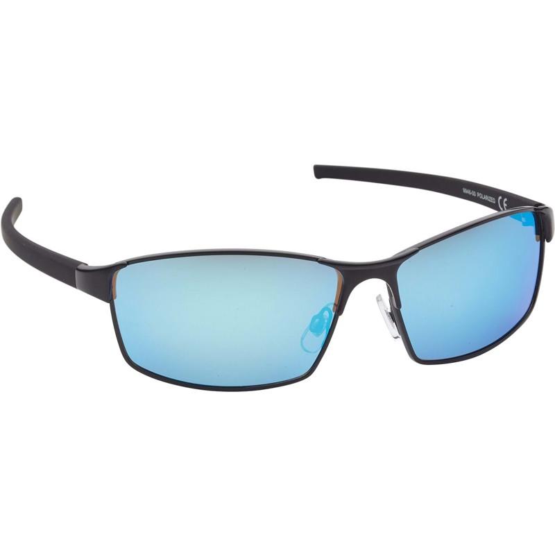 Prego Solbrille-Rektangulær-kurvet Sort 1