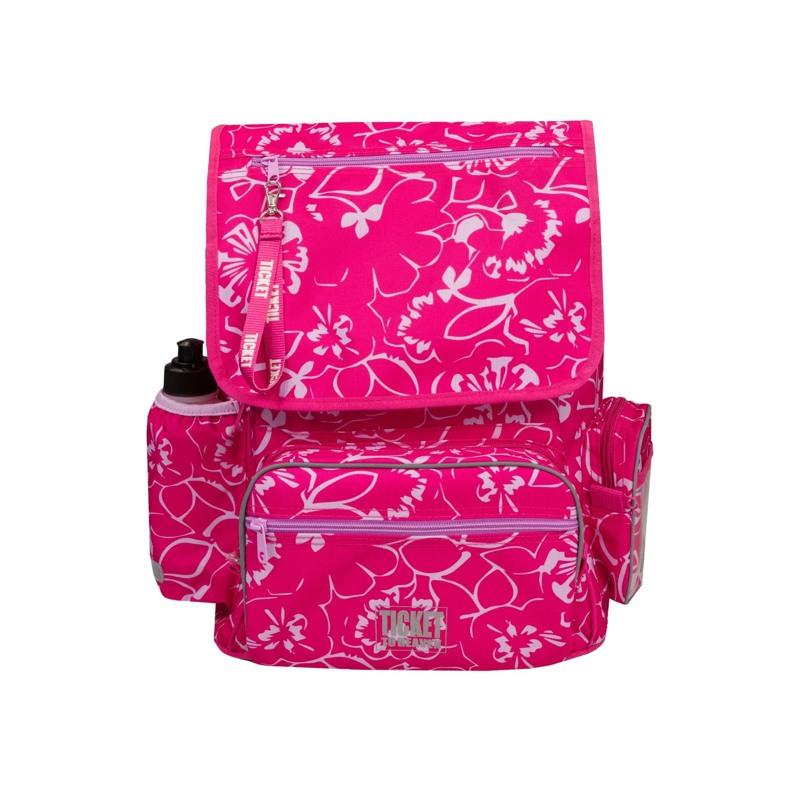 Rygsæk Junior Girl Pink Blomst 1