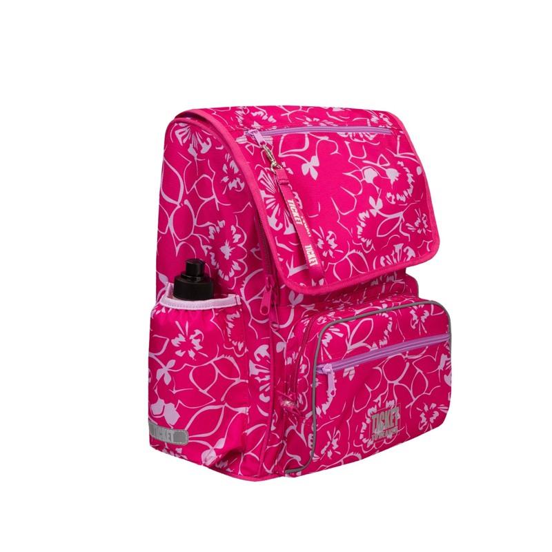 Rygsæk Junior Girl Pink Blomst 3