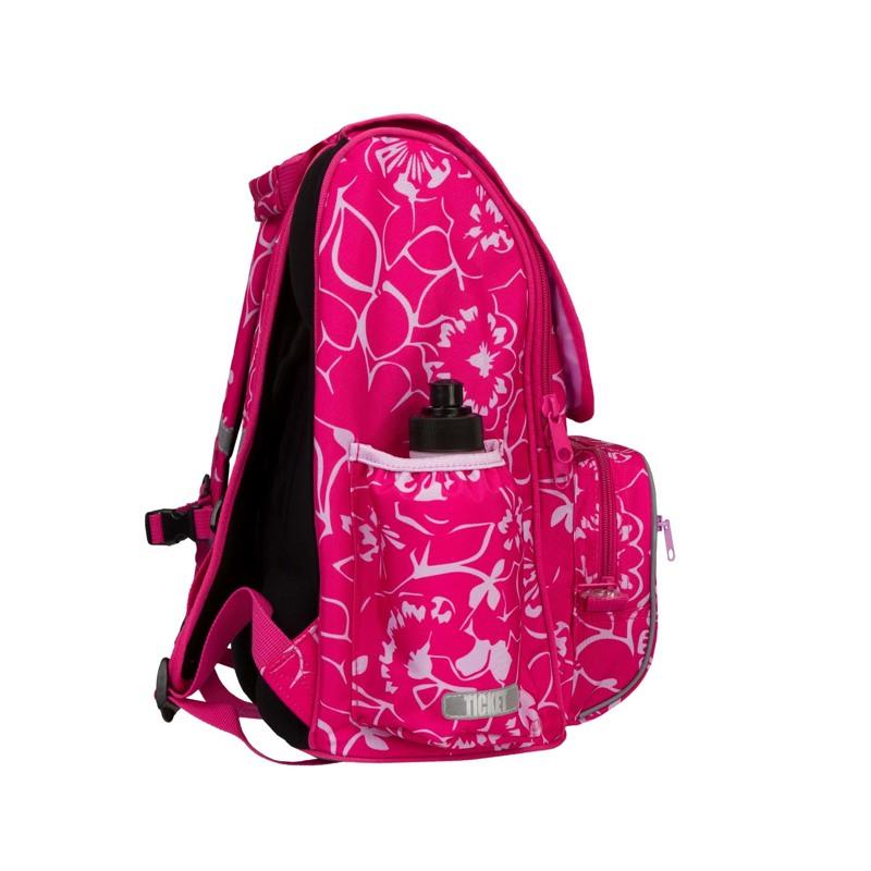 Rygsæk Junior Girl Pink Blomst 4