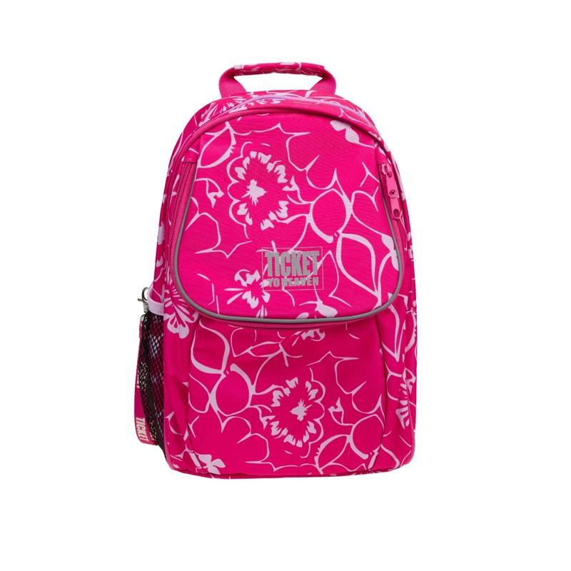 Rygsæk - Beginners Girl Pink Blomst 1