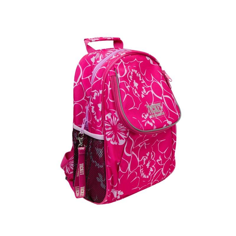 Rygsæk - Beginners Girl Pink Blomst 3