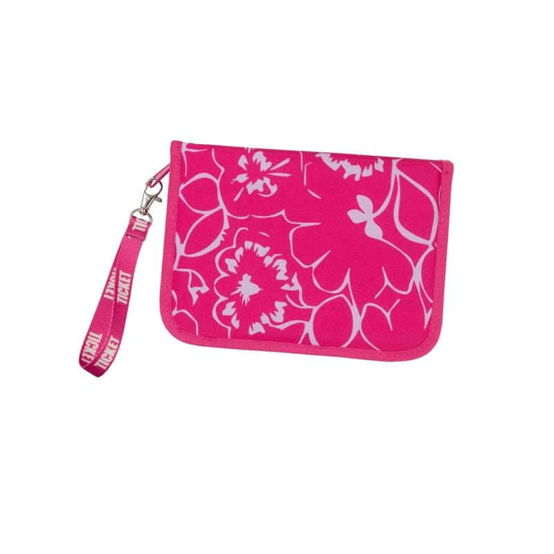 Penalhus Big Girl Pink Blomst 1
