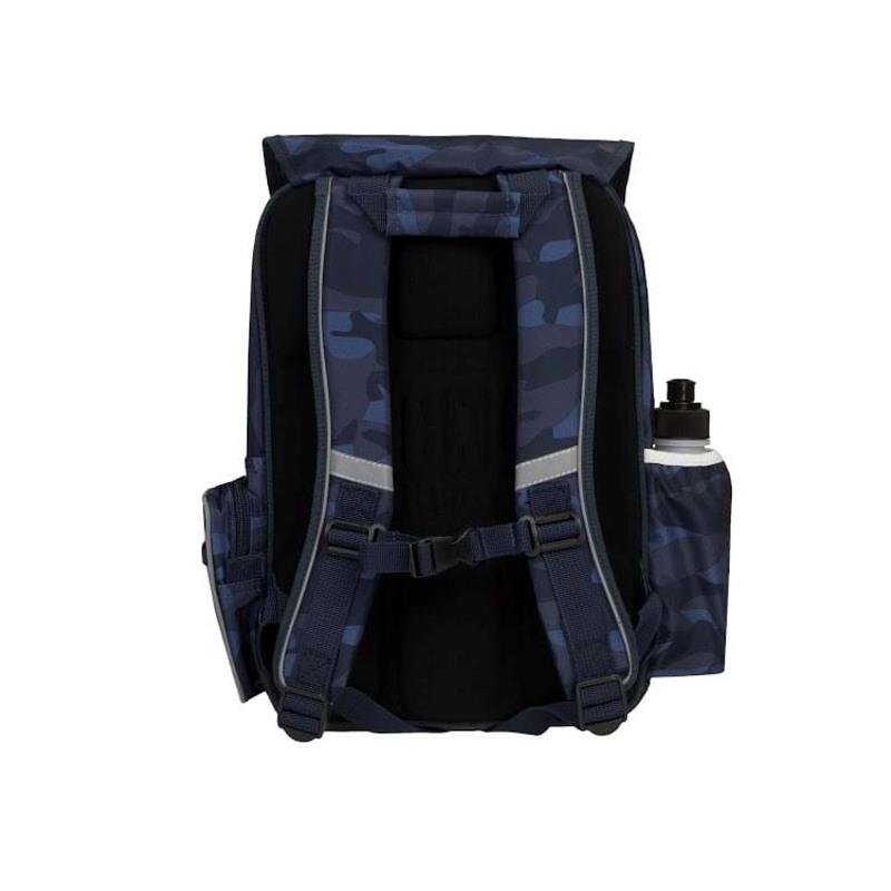 Skoletaske/rygsæk-Boy-Classic Blå camuflage 2