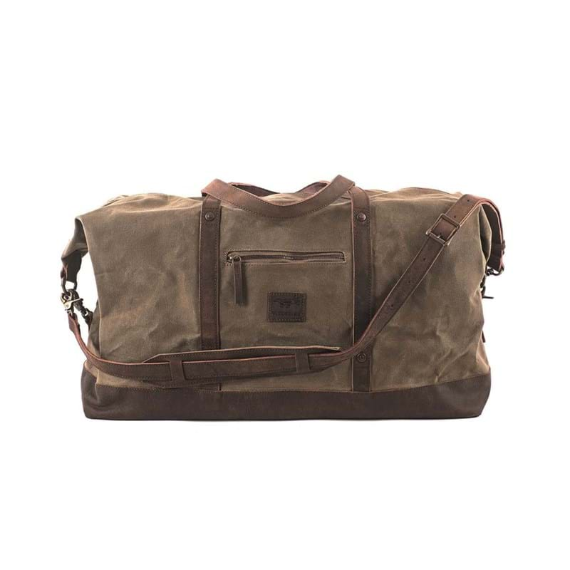 Duffel Bag Stockholm Beige/grøn 1