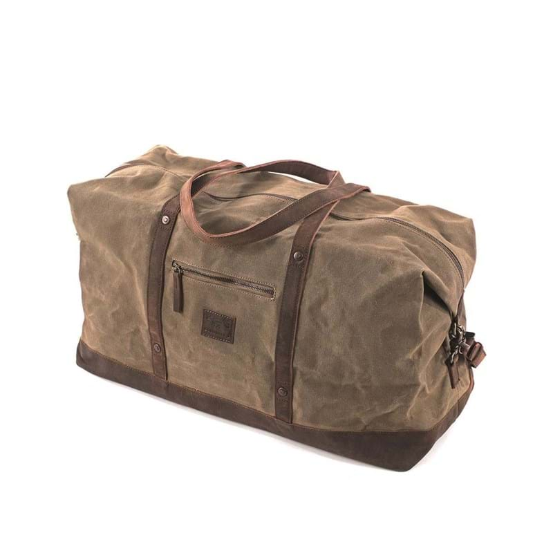 Duffel Bag Stockholm Beige/grøn 2