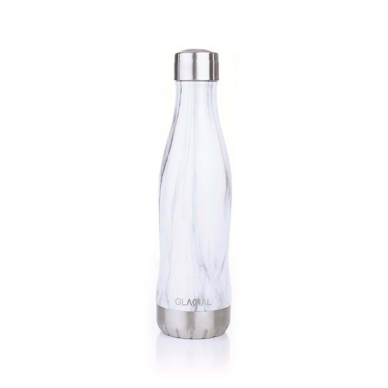Drikkedunk Glacial mat 400ml Hvid 1