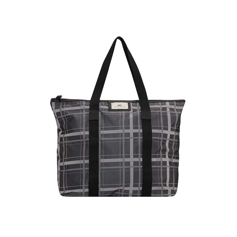 Day et Shopper Day G Checky Bag Grå/sølv 1