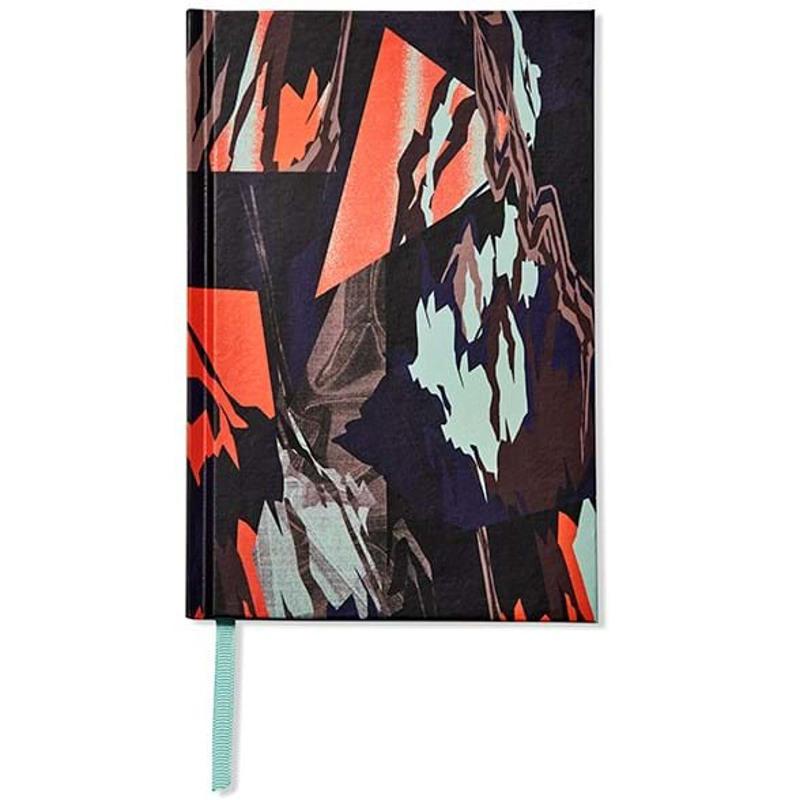 Bella Ballou Notebook, Glazier A5 Orange Mønster 1