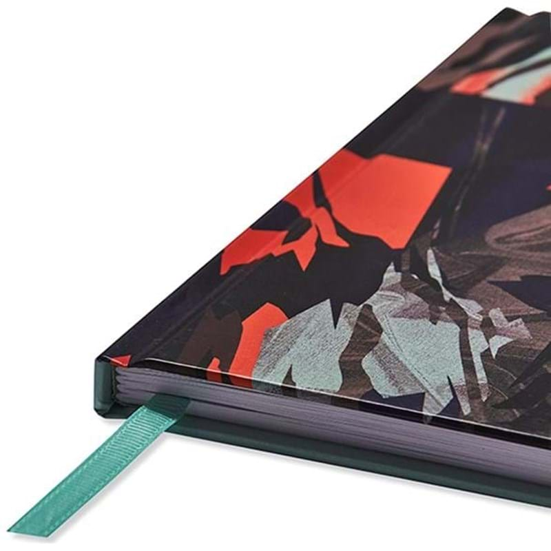 Bella Ballou Notebook, Glazier A5 Orange Mønster 2