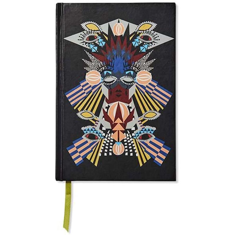 Bella Ballou Notebook, Collage A5 Sort m/mønster 1