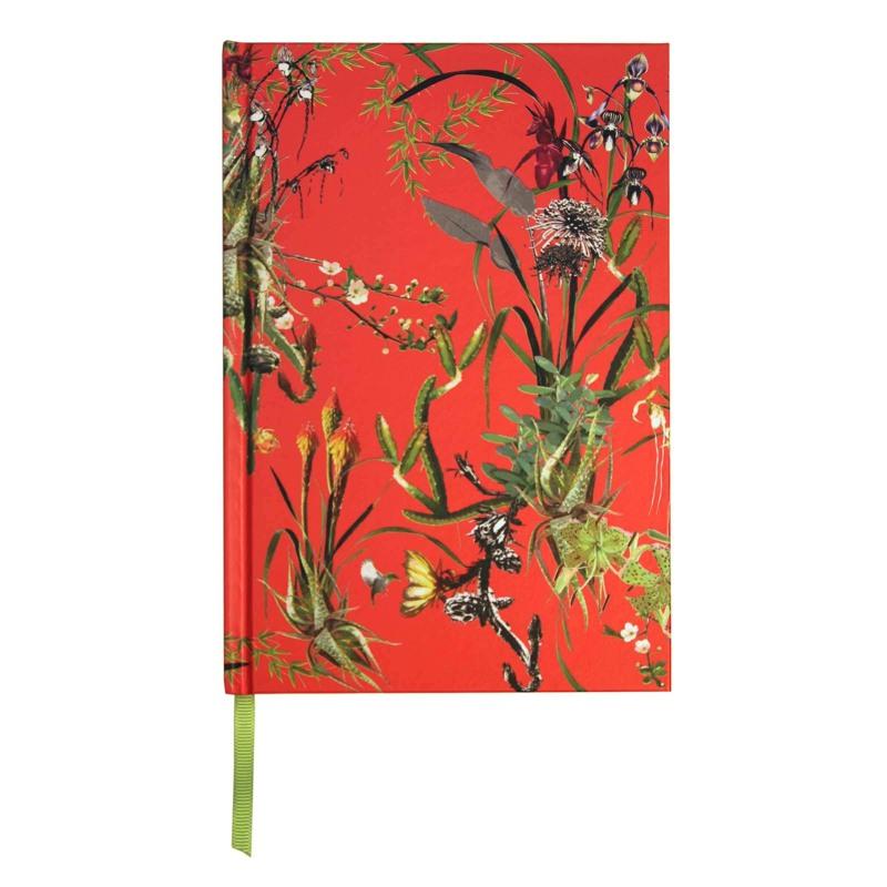 Bella Ballou Notebook, Asian Garden A5 Pink Blomst 1