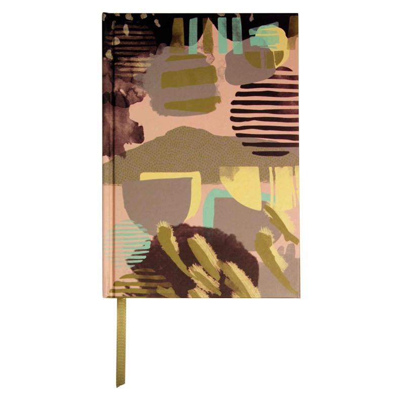 Bella Ballou Notebook, Handmarks A5 Rosa/Grey 1