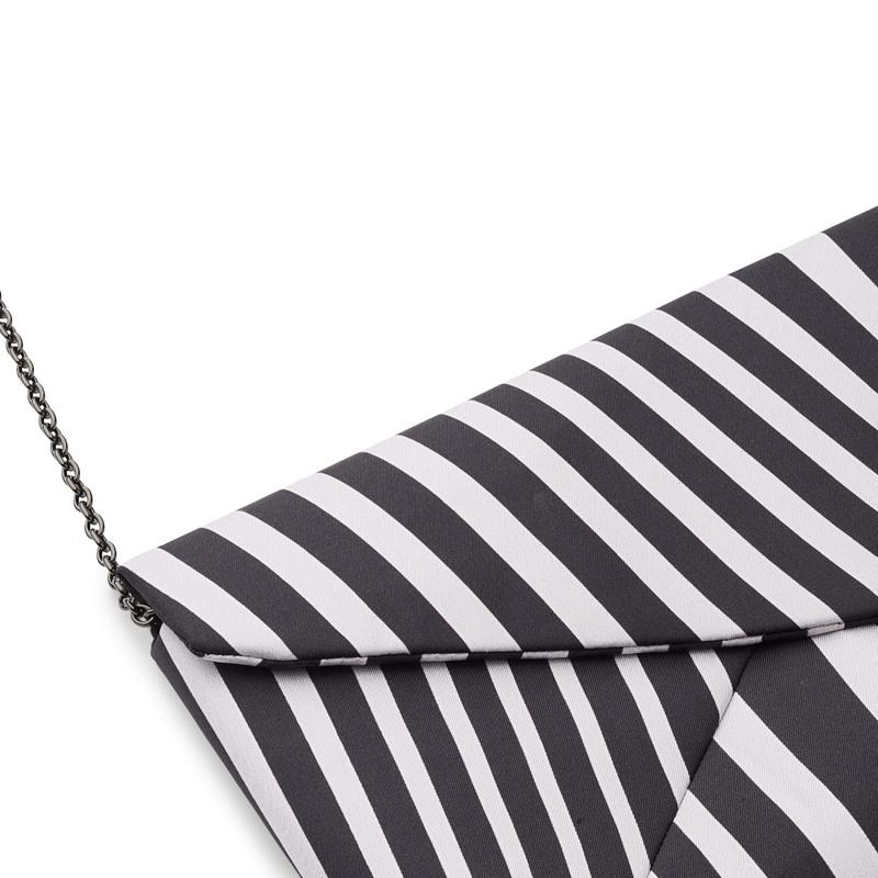 Bella Ballou Clutch, Funky Stripes Stribet 3