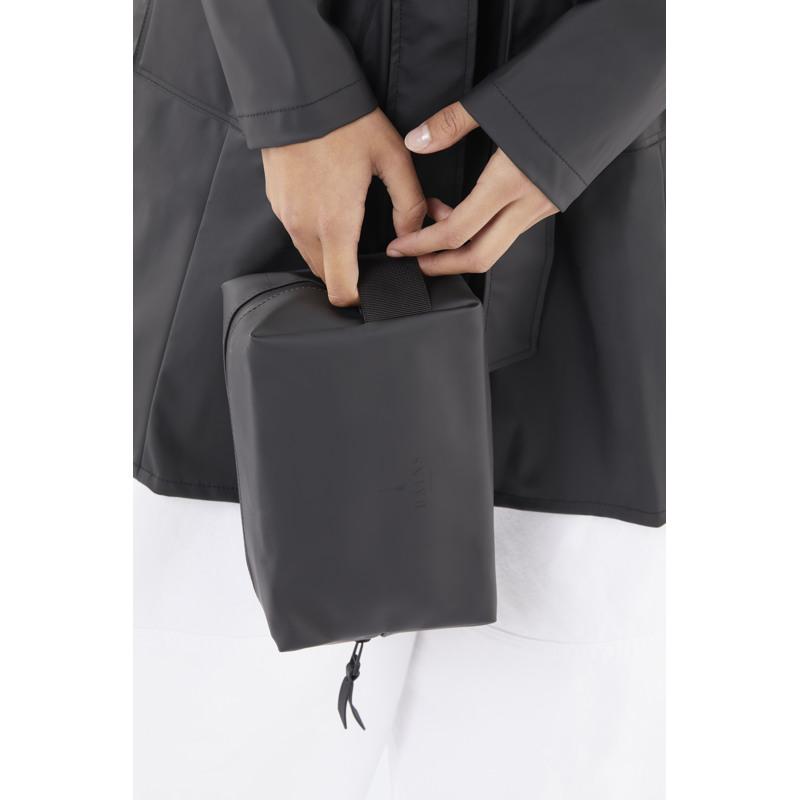 Rains Toilettaske Wash Bag S Sort 2