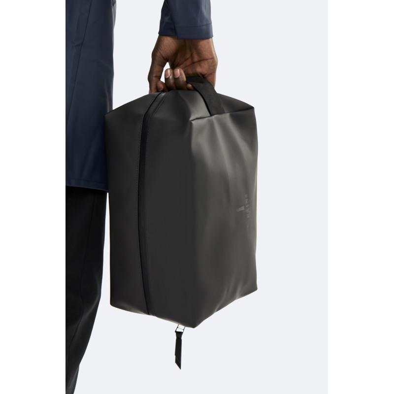 Rains Toilettaske Wash Bag L Sort 2