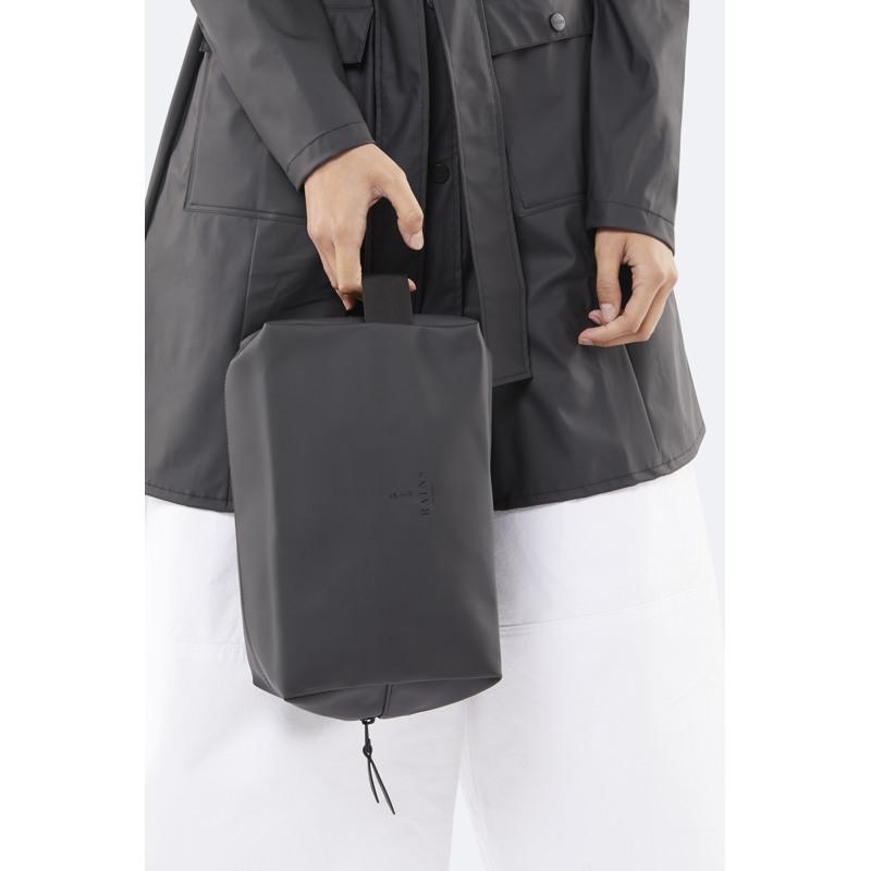 Rains Toilettaske Wash Bag L Sort 3