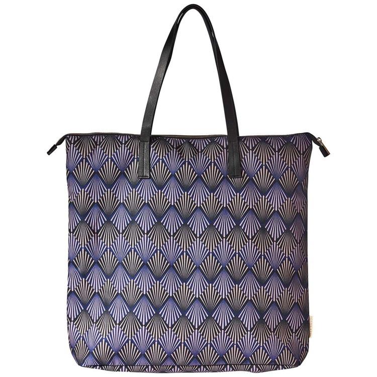 Bella Ballou Shopper Art Deco Blå/sort 1