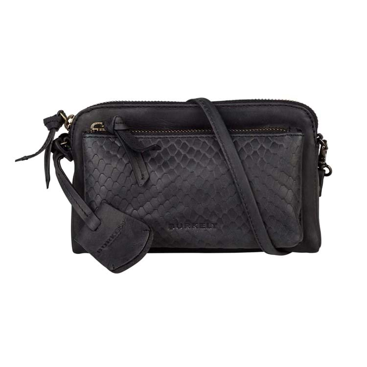 Burkely Crossbody Flow Fem Mini Sort 1