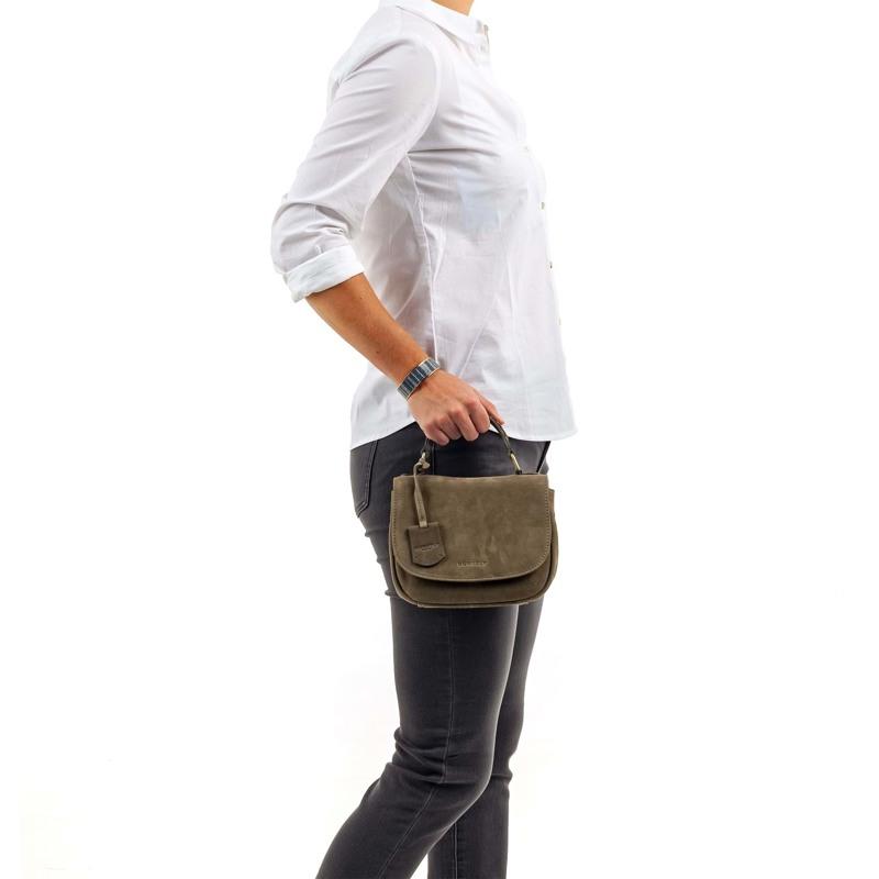 Burkely Håndtaske Braid Britt  Oliven 5