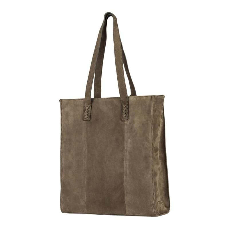 Burkely Shopper Braid Britt  Oliven 3