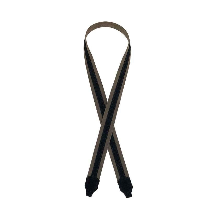 Noir Desire Taskerem ND folded strap Oliven/sort 1