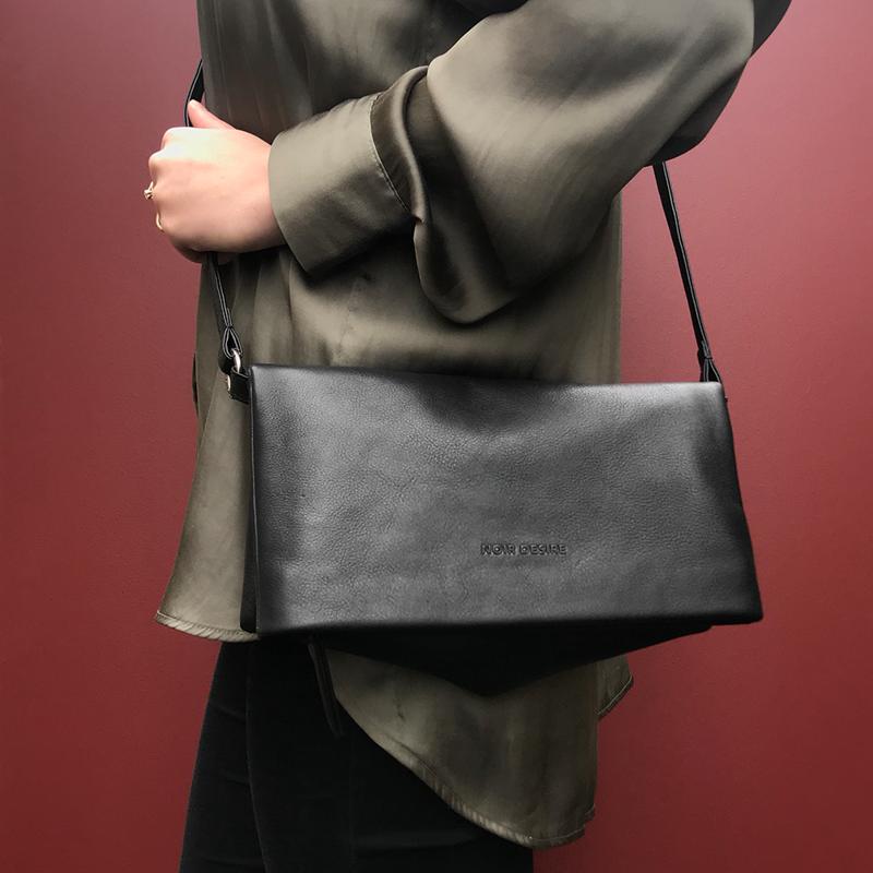 Noir Desire Combi clutch ND folded bag 2 Sort 5
