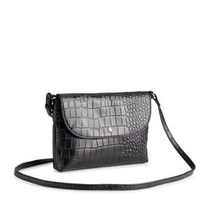 Aura Crossbody Aberdeen  Sort/Croco 2