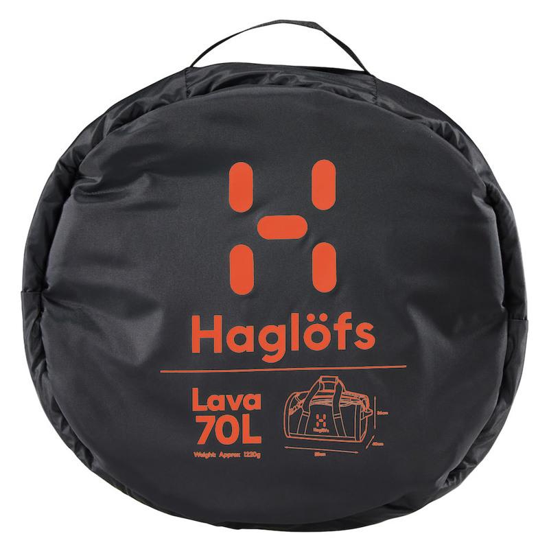Haglöfs Duffel Bag Lava 70 Sort 5