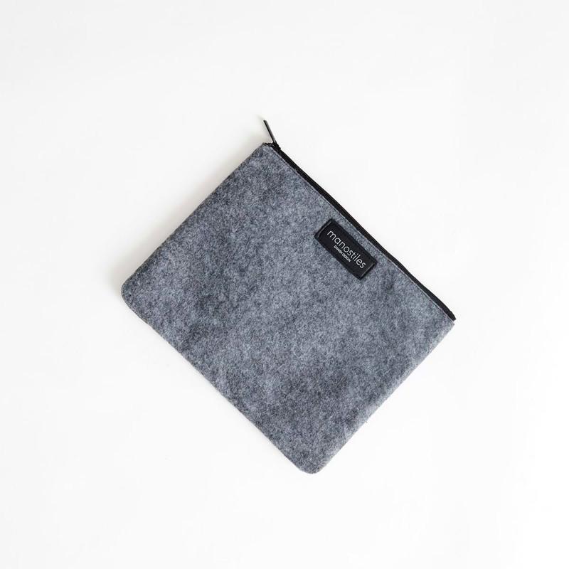 Manostiles iPad Sleeve Second Skin Grå 1