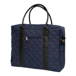 Manostiles Pusletaske Luksus med læder Blå