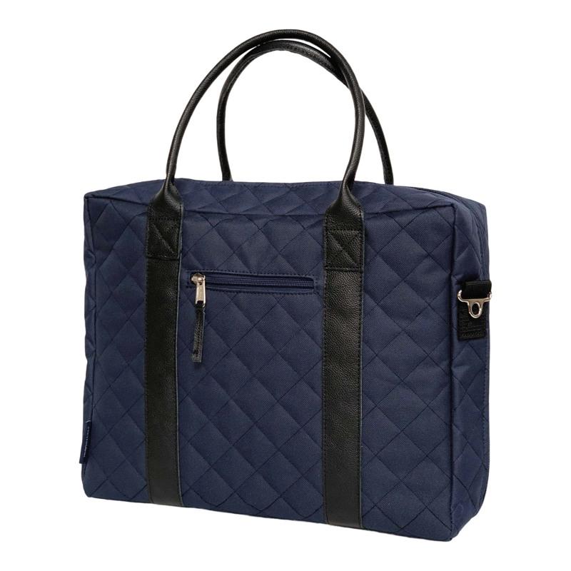 Manostiles Pusletaske Luksus med læder Blå 1