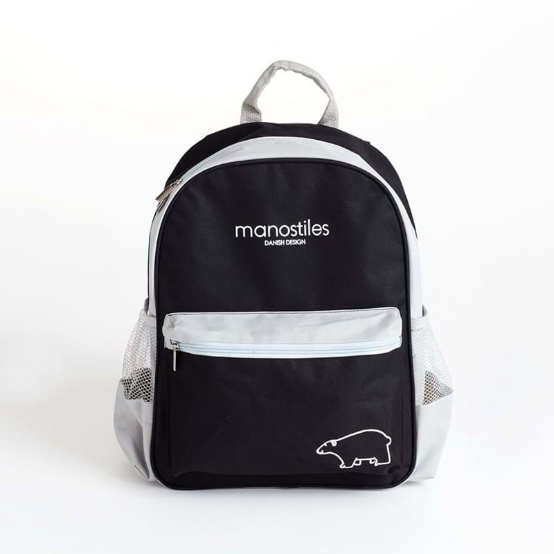 Manostiles Mini rygsæk Sort/grå 1