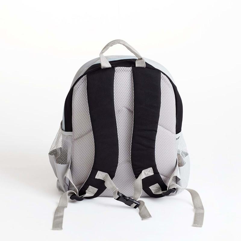 Manostiles Mini rygsæk Sort/grå 2