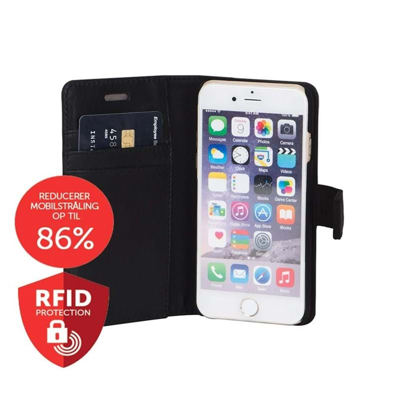 Mobilcover iPhone 6,7,8 Sort 2