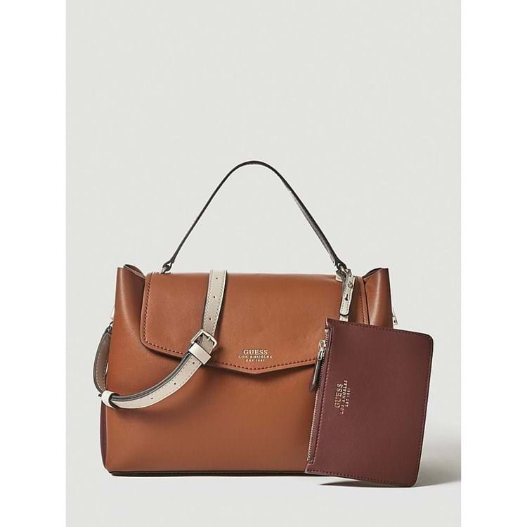 Guess Håndtaske Ella Cognac 1