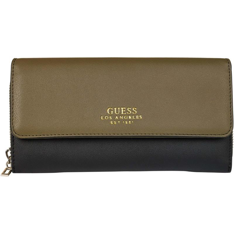 Guess Clutch Ella Oliven 1
