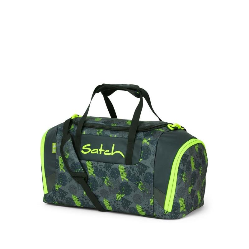 Satch Sportstaske Sort/Grøn 1