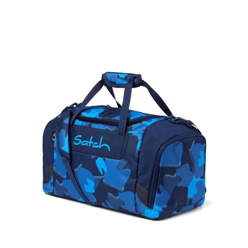 Satch Sportstaske Blå camuflage 1